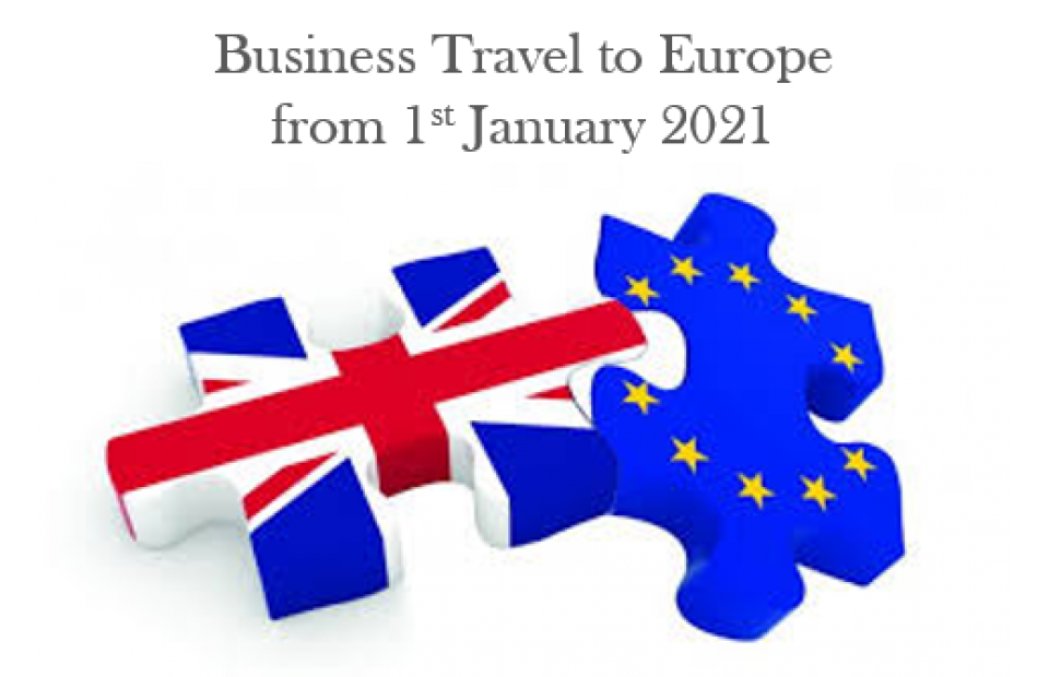 Business Travel to Europe post Brexit